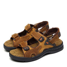 Men's Casual Real Leather Men's Sandals