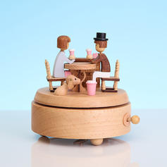 Romantic Wood Music Box