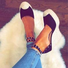 Femmes PU Talon compensé Plateforme Compensée avec Autres chaussures