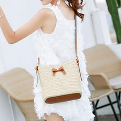 Elegant/Braided Straw Crossbody Bags/Shoulder Bags/Beach Bags/Bucket Bags/Hobo Bags