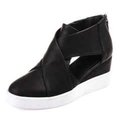 Femmes PU Talon compensé Sandales avec Autres chaussures