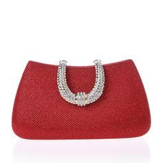 Elegant/Effen kleur/Luxe Satijn Koppelingen/Bruidstasje/Portefeuilles & horlogebandjes
