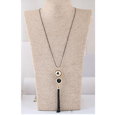 Fashionable Alloy With Tassels Women's Fashion Necklace