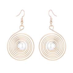 Stylish Alloy Imitation Pearls With Imitation Pearl Women's Fashion Earrings