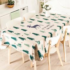 Christmas Reindeer Cotton Tablecloths