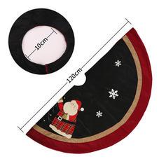 Merry Christmas Non-Woven Fabric Christmas Tree Skirt