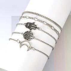 Alliage Parures Bracelets (Ensemble de 5 paires)