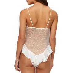 Nylon Chinlon Jednodílní spodní prádlo