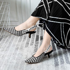 Kvinder silke lignende satin Killinge Hæl med Satinsløjfe Spænde sko