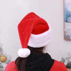 Fröhliche Weihnachten Santa Leinen Weihnachtsmützen