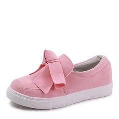 Kvinnor Flat Heel Platta Skor / Fritidsskor med Bowknot skor