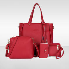 Elegant PU Shoulder Bags/Bag Sets/Wallets & Wristlets