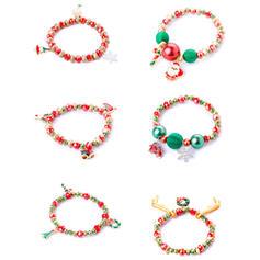 Schneeflocke Legierung Armbänder Weihnachtsschmuck