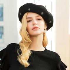 Señoras' Hermoso/Elegante/Simple Madera Boina Sombrero