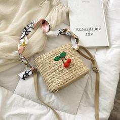 Braided PU/Straw Beach Bags/Bucket Bags