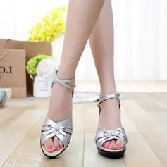 Latino Tacchi Sandalo Vera pelle con Listino alla caviglia Latino