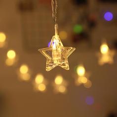 Merry Christmas Star PVC Lights Christmas Décor
