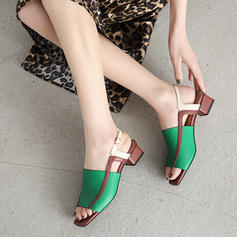 Vrouwen PU Low Heel Pumps met Gesp schoenen