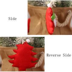 god jul nisse hengende Klut Trehengende ornamenter