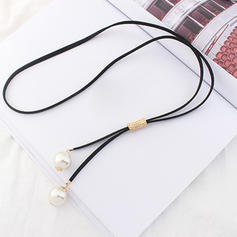 Gorgeous Alloy Imitation Pearls Women's Fashion Necklace (Sold in a single piece)