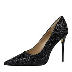 Women's Sparkling Glitter Stiletto Heel Pumps With Sequin shoes