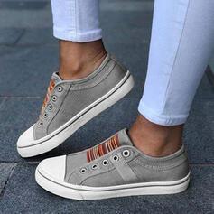 Frauen Leinwand Lässige Kleidung Outdoor mit Zweiteiliger Stoff Schuhe