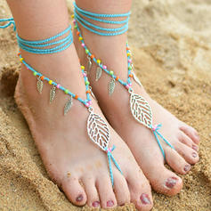 Chinlon Foot Jewellery (Set of 2)