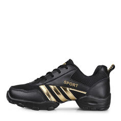 Men's Sneakers Sneakers Real Leather Fabric With Lace-up Sneakers