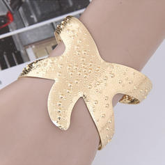 Fashionable Alloy Women's Bracelets (Sold in a single piece)