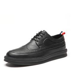 Brogue Dress Shoes Microfiber Leather Men's Men's Oxfords