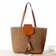 Commuting/Bohemian Style/Braided/Simple Tote Bags/Shoulder Bags/Beach Bags