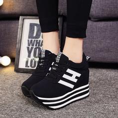 De mujer Tela Malla Casual al aire libre con Cordones zapatos