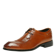 Lace-up U-Tip Dress Shoes Microfiber Leather Men's Men's Oxfords