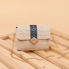 Unique Straw Crossbody Bags/Shoulder Bags