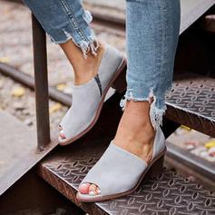 Donna PU Tacco a spillo Stiletto Punta aperta con Altrui scarpe