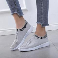 Frauen Stoff Lässige Kleidung Outdoor Sportlich mit Gummiband Schuhe