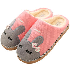 Women's Fabric Flat Heel Flats Slippers With Bowknot Others shoes
