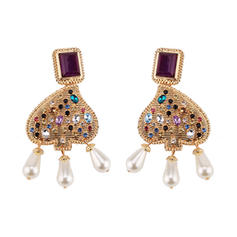 Shining Alloy Women's Fashion Earrings