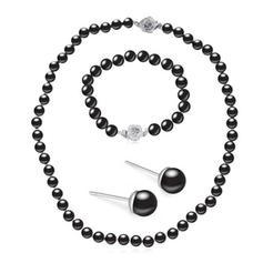 Hermoso Aleación La perla de faux con Perlas de imitación Señoras' Sistemas de la joyería
