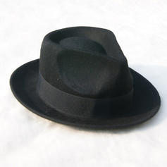 bărbaților glamourous/Elegant/Simplu Simțit Hat Fedora