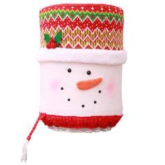 Неткане полотно Різдвяний декор Кришка пляшки