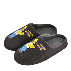 Męskie Nieformalny Zamsz Pantofle męskie