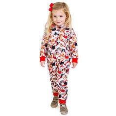 Cartoon Print Family Matching Christmas Pajamas Pajamas