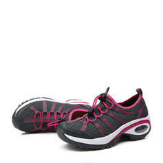 Frauen Mesh Lässige Kleidung Outdoor Sportlich Wandern mit Zuschnüren Schuhe