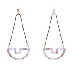Unique Alloy Acrylic Women's Fashion Earrings