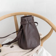 Elegant Leather Crossbody Bags/Shoulder Bags/Bucket Bags
