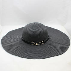 Señoras' Especial Rafia paja Sombreros Playa / Sol