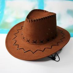 Men's Classic Velvet Cowboy Hats