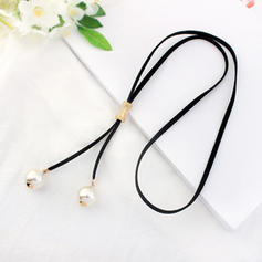 Gorgeous Alloy Imitation Pearls Women's Necklaces (Sold in a single piece)