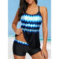 Colore della giuntura Pendenza A bikini Gli sport Taglia grossa Tankini Costumi Da Bagno